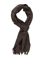 Scarf Maudit Merino Wool Green Check - Green Check