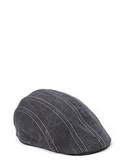 MJM Maddy Canvas 100 % Cotton Khaki - Black