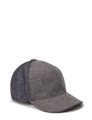 MJM Baseball EL Wool Mix - Grey Check