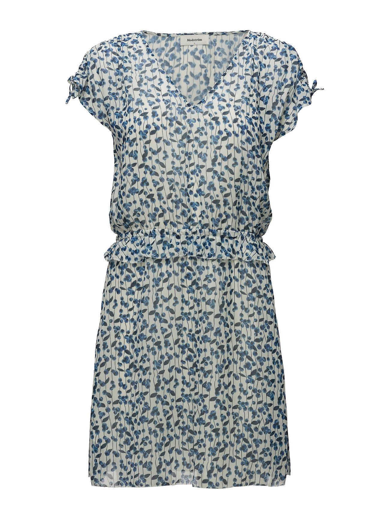 Valrona Print Dress Modström Korte kjoler til Damer i