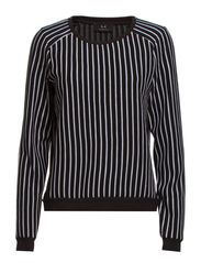 Carolina - Stripe Black/White