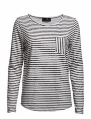 Carlito - Stripe Black/White