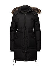 Unit Faux fur - BLACK