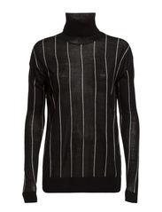 Tomas Pin stripe - Black