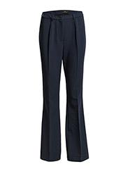 Tilde flared pants - NAVY NOIR