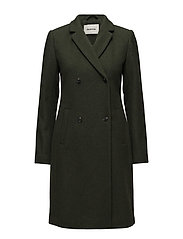 Odelia coat - MOSS GREEN
