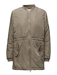 Romeo long jacket - KHAKI