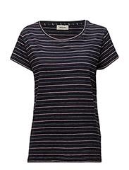 Salina t-shirt - NAVY SKY/ROSE/WHITE STRIPE