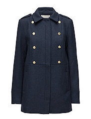 Bella jacket - NAVY SKY