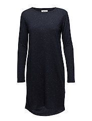 Casta dress - NAVY SKY