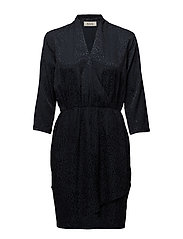 Dalia dress - NAVY SKY