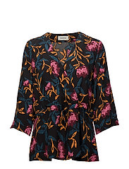 Donald print top - FALL FLOWER