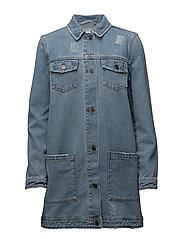 Edmund vintage blue jacket - VINTAGE BLUE