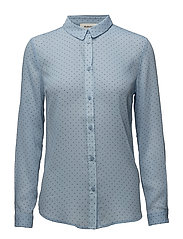 Favor print shirt - BLUE SKY/BLACK DOT