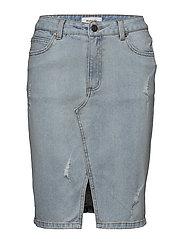 Gilli vintage blue skirt - VINTAGE BLUE
