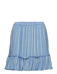 Gilva print skirt - BLUE WASH
