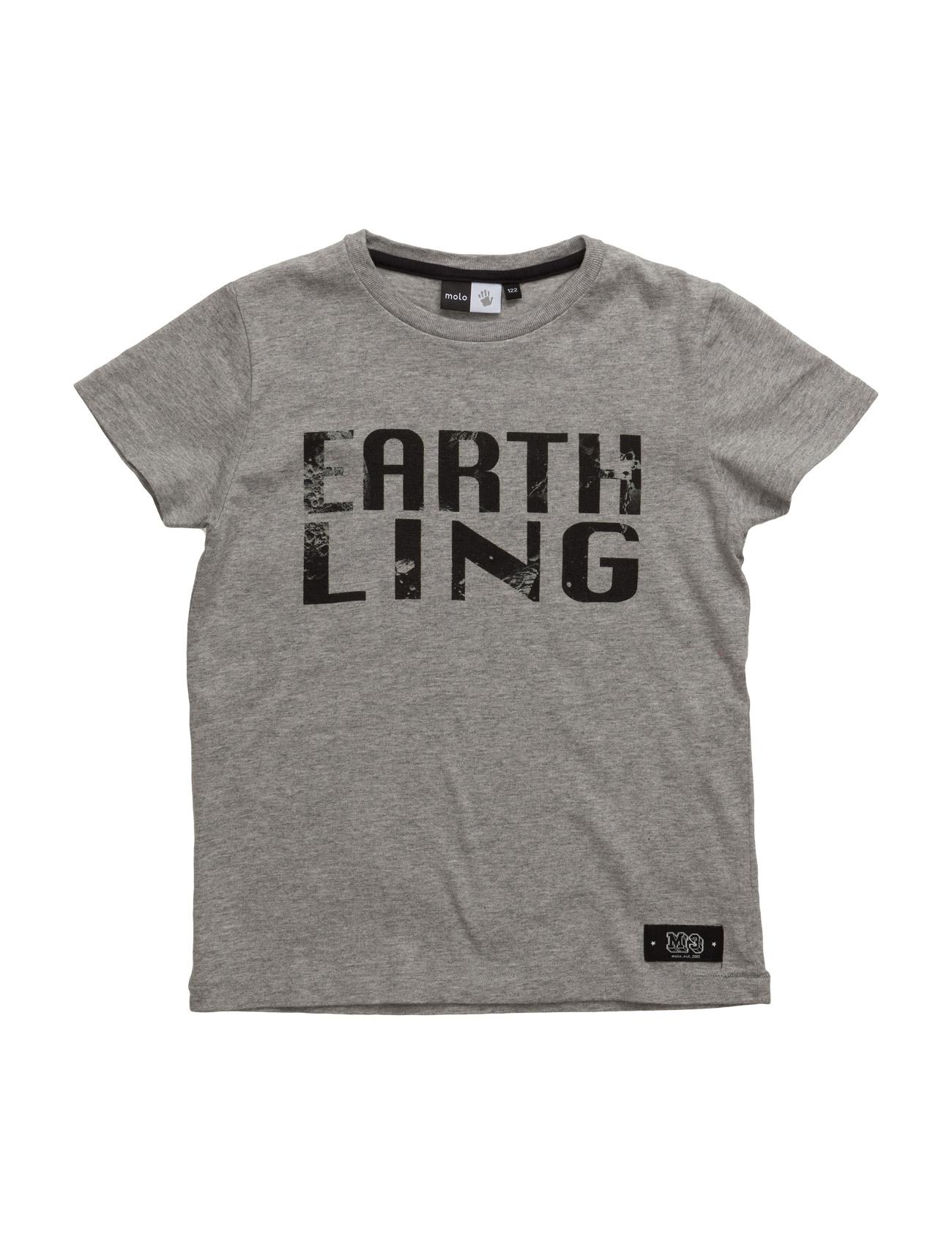 läckra Runi Molo Kortärmad T-Shirts till Barn i trevliga material 52a83fc9efde7