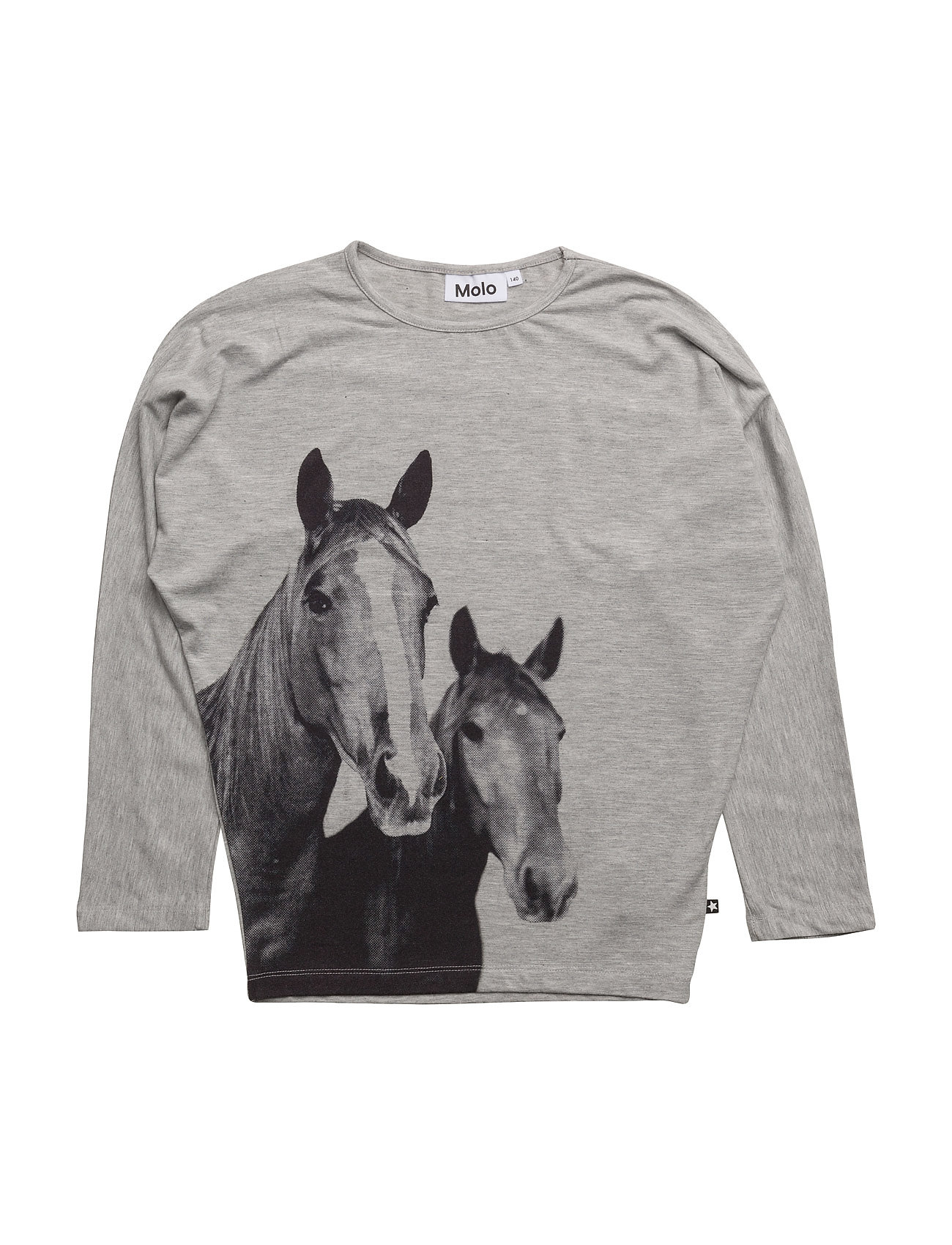 Rosey Molo T-shirts til Piger i Grey Melange