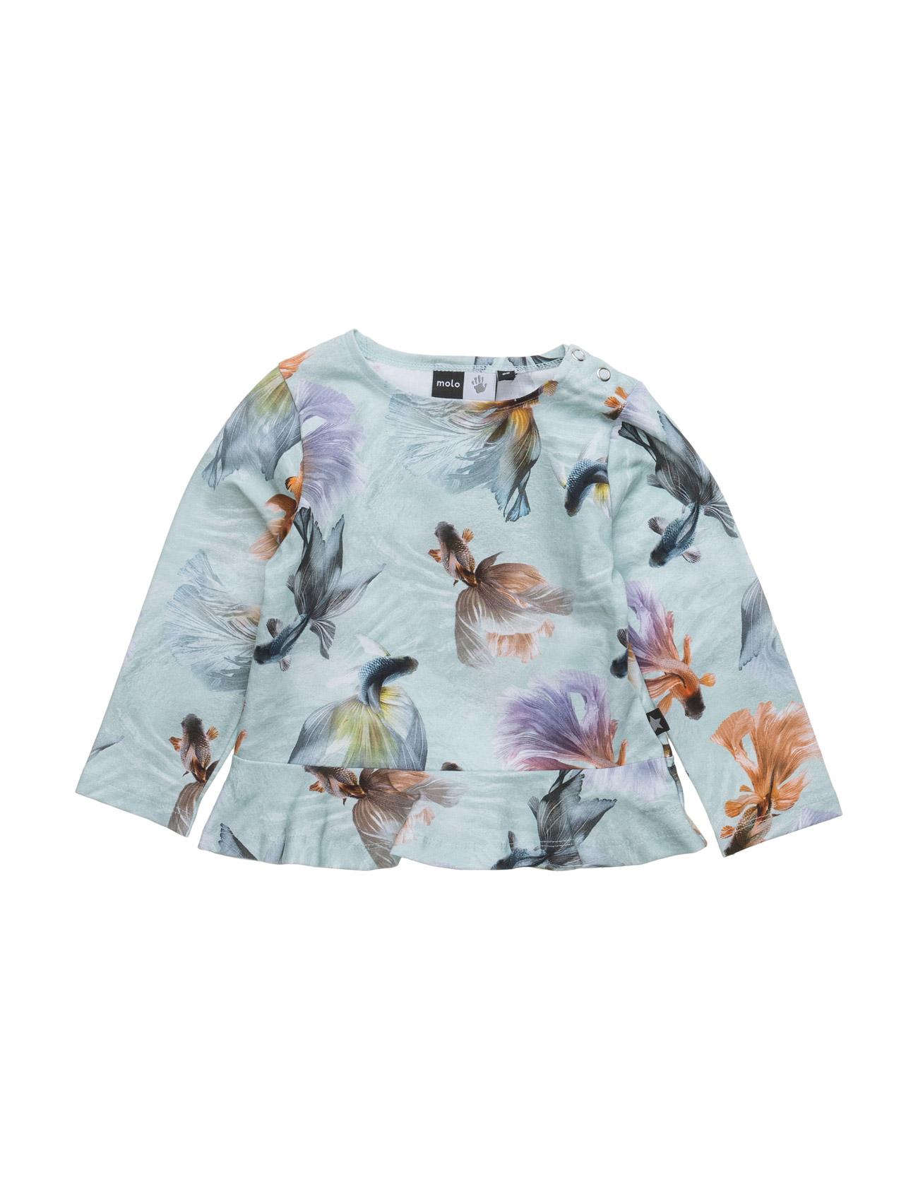 Elisabeth Molo Langærmede t-shirts til Børn i