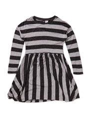 Calla - Black melange stripe