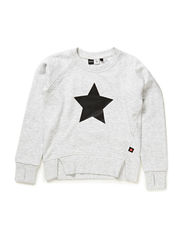 Madge Sweatshirt - White melange