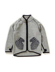 Ushi Fleece - Grey melange