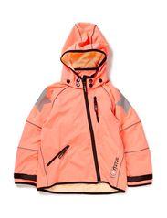 Cloudy softshell jacket, waterproof 10.000mm - Striking Pink