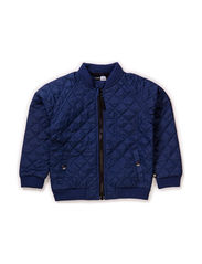 Marcello quilted nylon jacket - Indigo navy