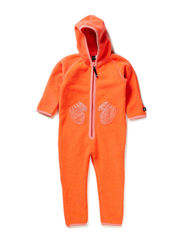 Udo Fleece - Fiery coral