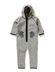 Udo Fleece - Grey melange