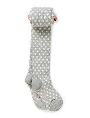 Star tights - Grey melange