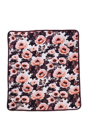Neala blanket - Pink Poppies