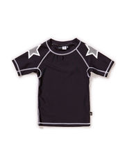 Neptune swim T-shirt UV 40+ - Black