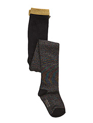 Multi Glitter Tights - BLACK