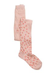 Scratch Dot Tights - SCRATCH DOTS ROSE