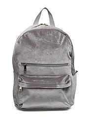 Velvet backpack - NEUTRAL GRAY