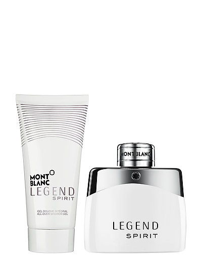 Mont Blanc Legend Spirit 50 ml + 100 ml. Shower Gel - CLEAR
