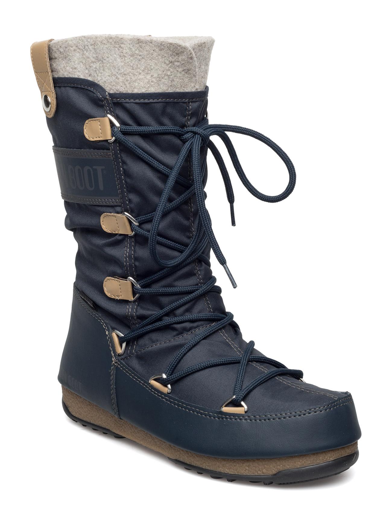 Mb Moon Boot W.E. Monaco Fel Moon Boot Støvler til Damer i