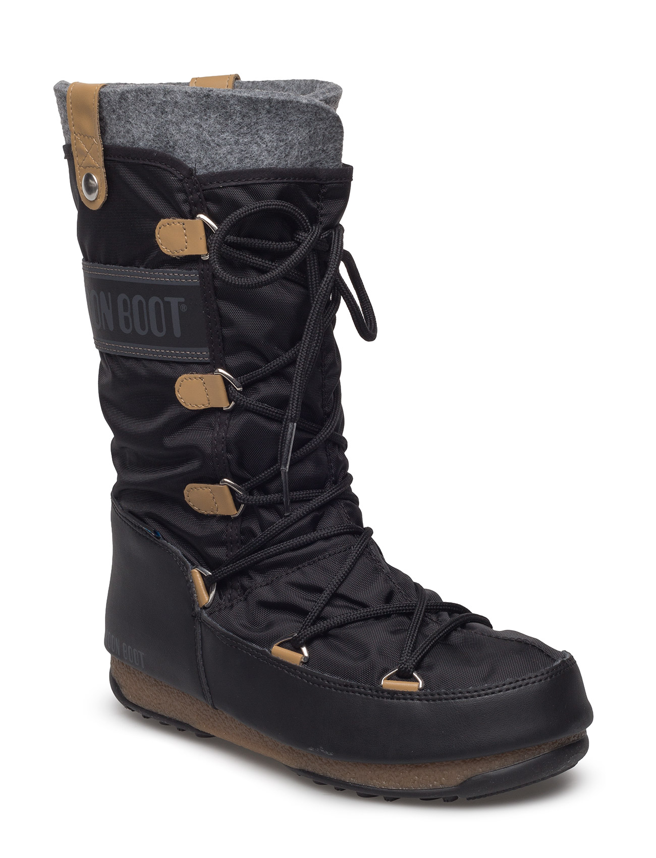 Mb Moon Boot W.E. Monaco Fel Moon Boot Støvler til Damer i