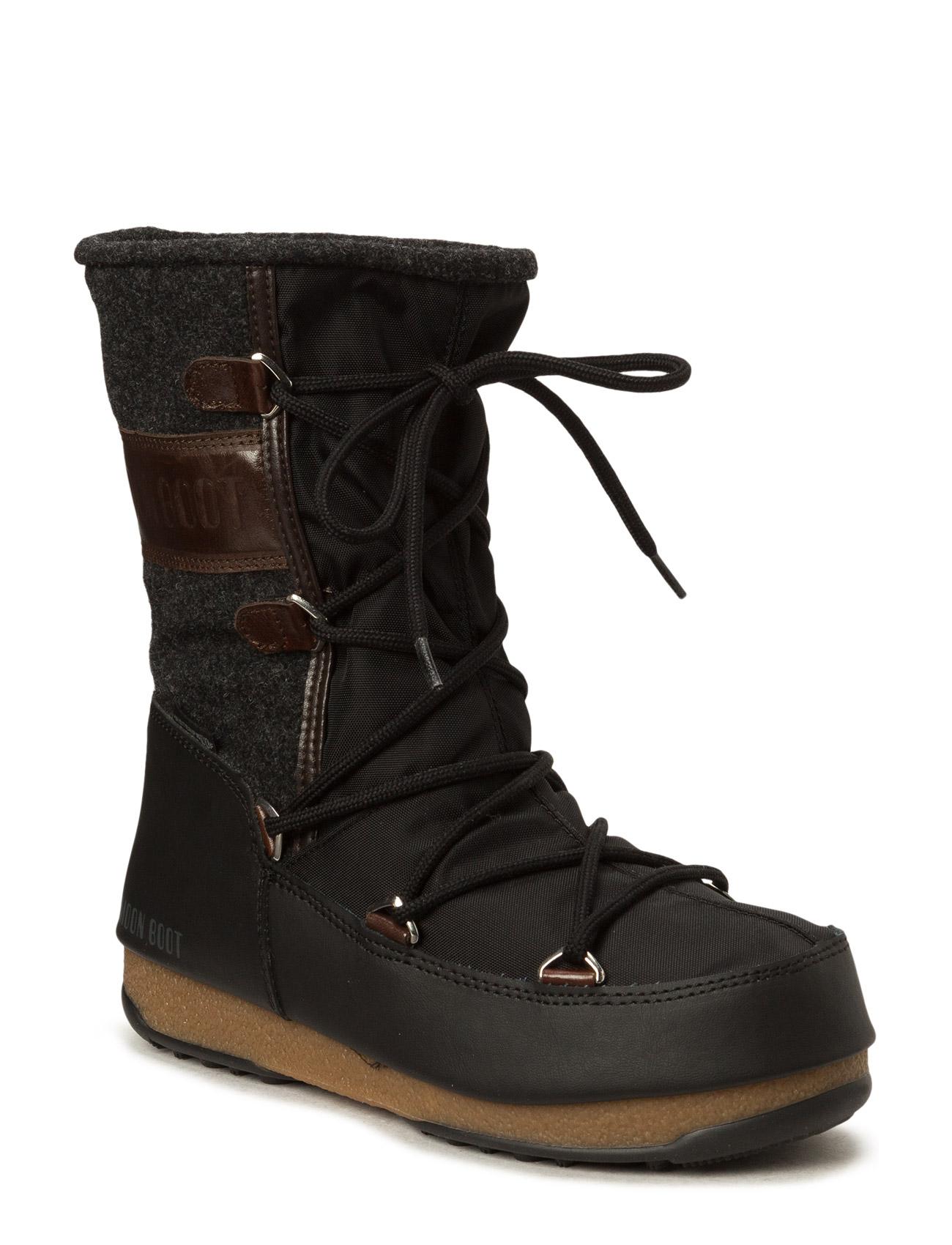 Mb Moon Boot W.E. Vienna Felt Moon Boot Sko til Unisex i