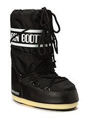 MOON BOOT NYLON - BLACK