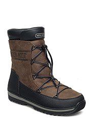 MB MOON BOOT LEM LEA - BROWN-BLACK