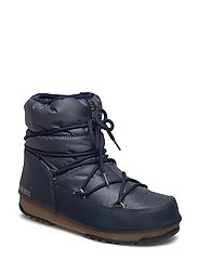 MOON BOOT W.E. LOW NYLON - DENIM BLUE