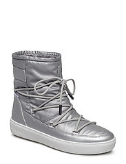 MOON BOOT PULSE NYLON PLUS WP - SILVER