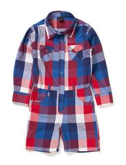 Moonkids Jumpsuit, checked