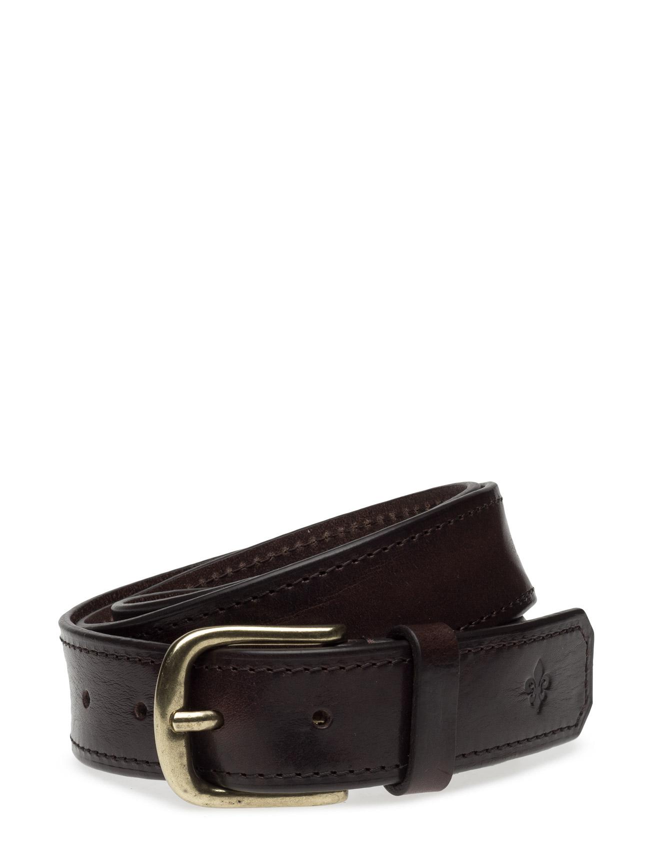 Morris Belt Male Morris Accessories Bælter til Mænd i Brun