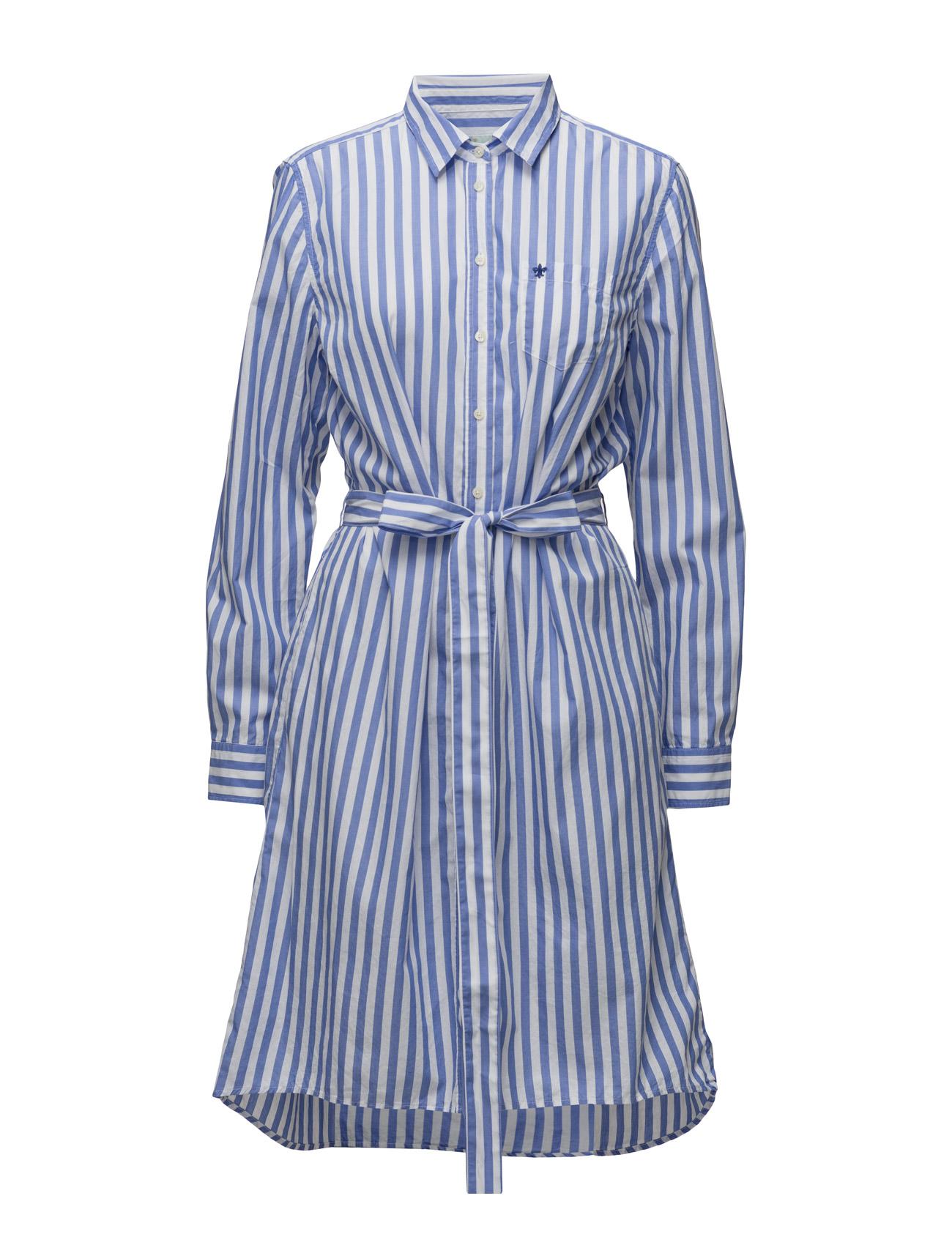 Marcelle Dress Morris Lady Knælange & mellemlange til Damer i Blå