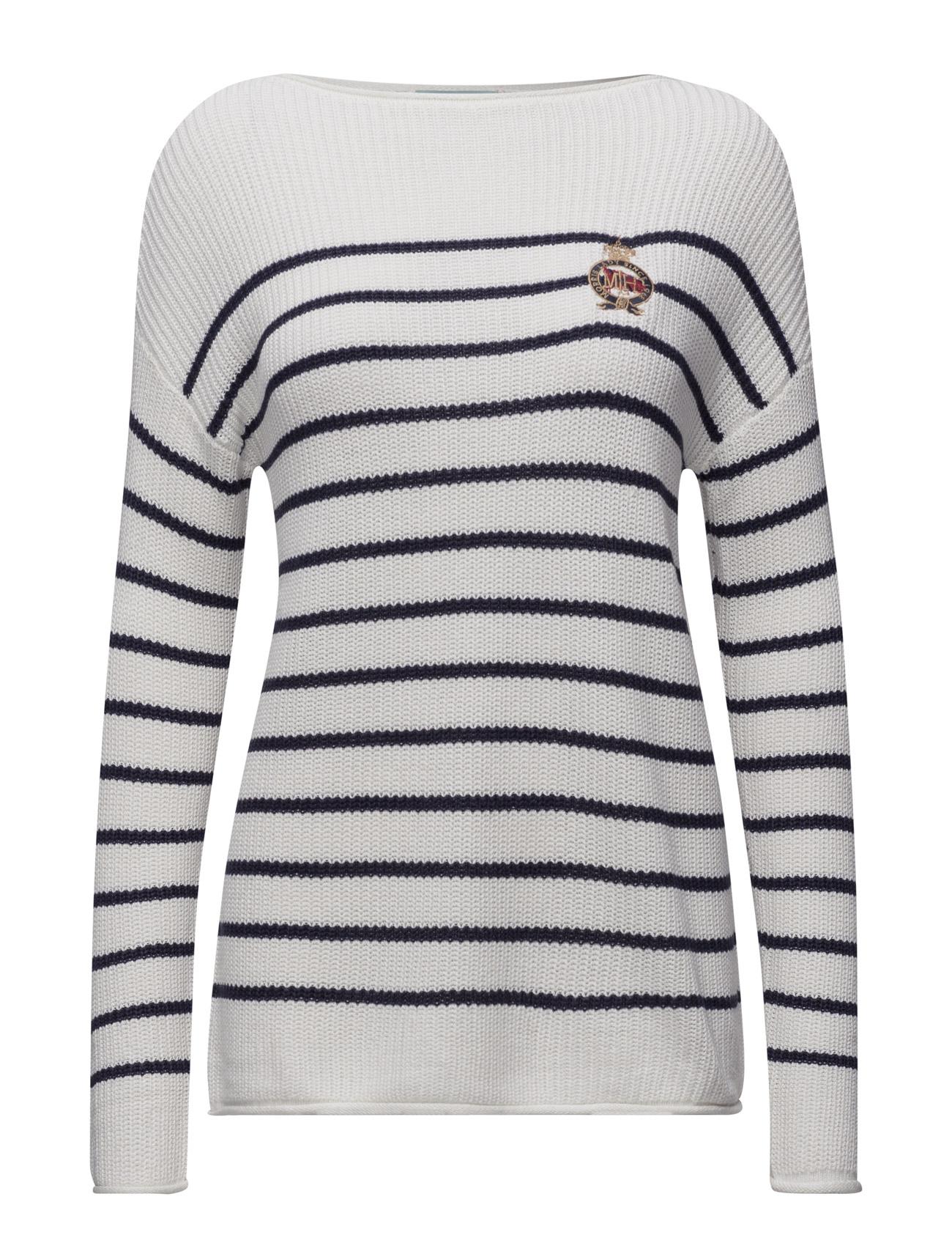 Abelle Knit Morris Lady Sweatshirts til Damer i Off White