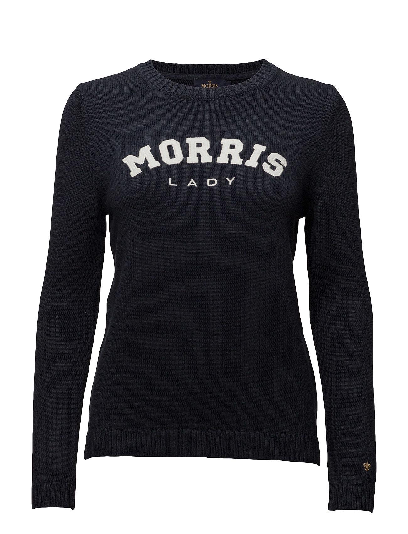 Lady Logo Morris Lady Sweatshirts til Damer i Blå