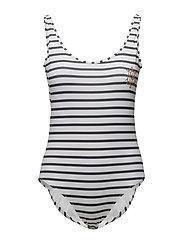 Breton Swimsuit - BLUE